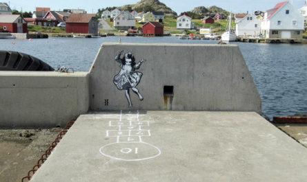 Работы британского уличного художника JPS