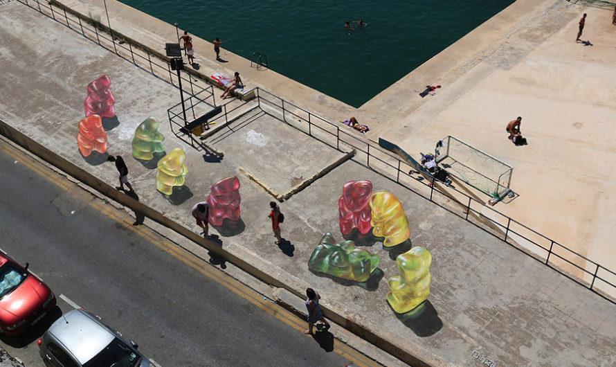 Gummy Bears : Гамми мишки на мальтийской набережной