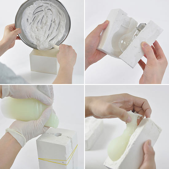Люминесцентные лампы южнокорейской студии Hobby:Design