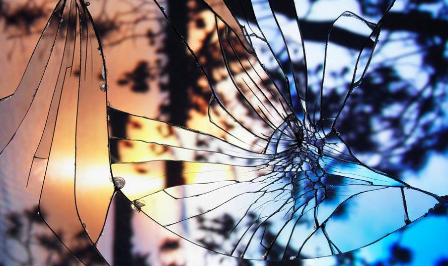 Вечерние небеса в разбитых зеркалах Бинга Райта