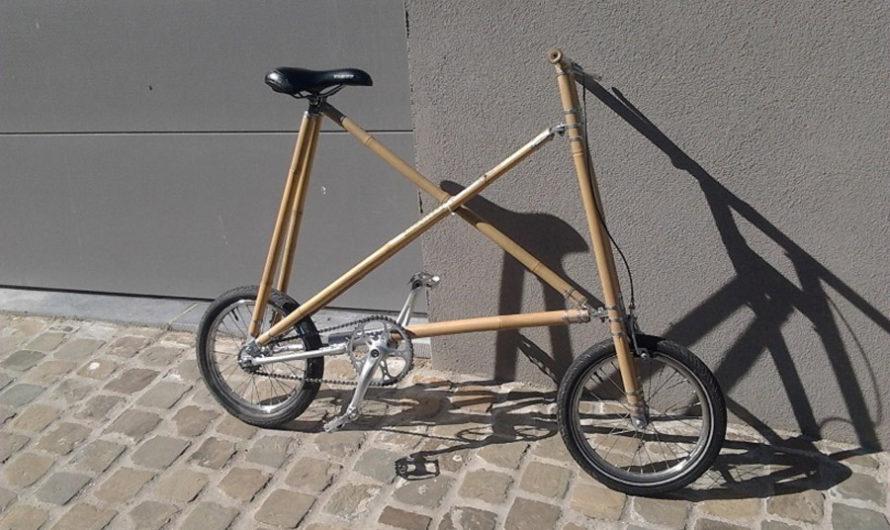 Велосипед из бамбука – бельгийская версия