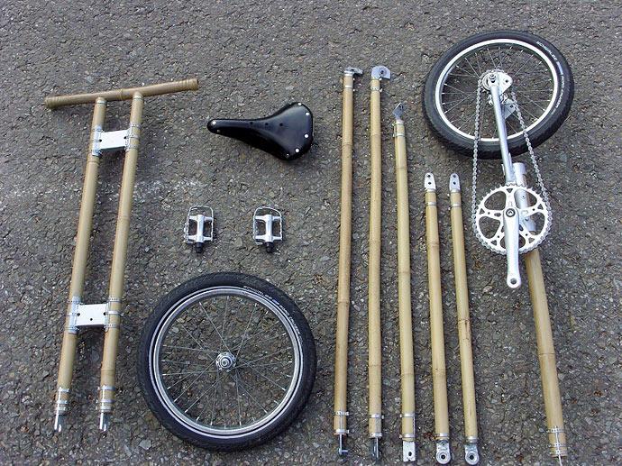 Велосипед из бамбука бельгийского дизайнера Michael Verhaeren