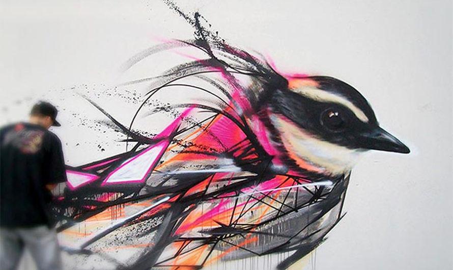 Росчерком пера – уличная орнитология L7m