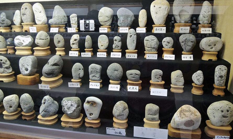 Покерфейс : Японский музей камней, похожих на человеческие лица