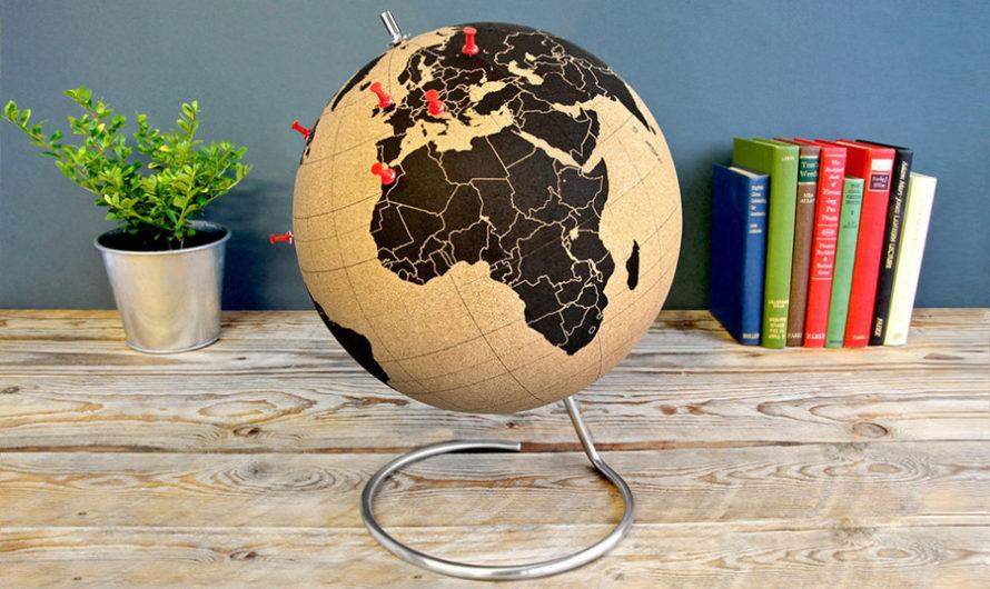 «Я здесь был» : Глобус для заметок Chiaki Kawakami