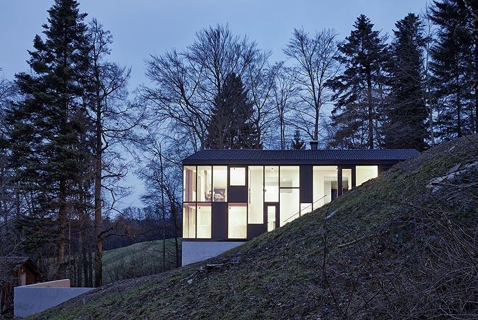 Дом Haus Hohlen австрийского архитектора Йохена Шпекта (Jochen Specht)