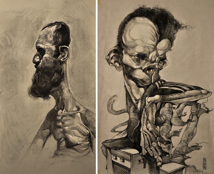Уличные портреты Stamatis Laskos