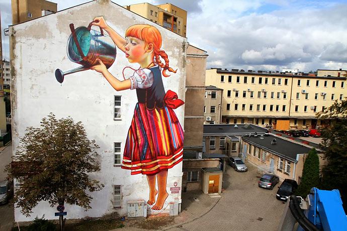 Городская живопись Natalia Rak