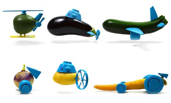 Занимательный апгрейд овощей от Open Toys