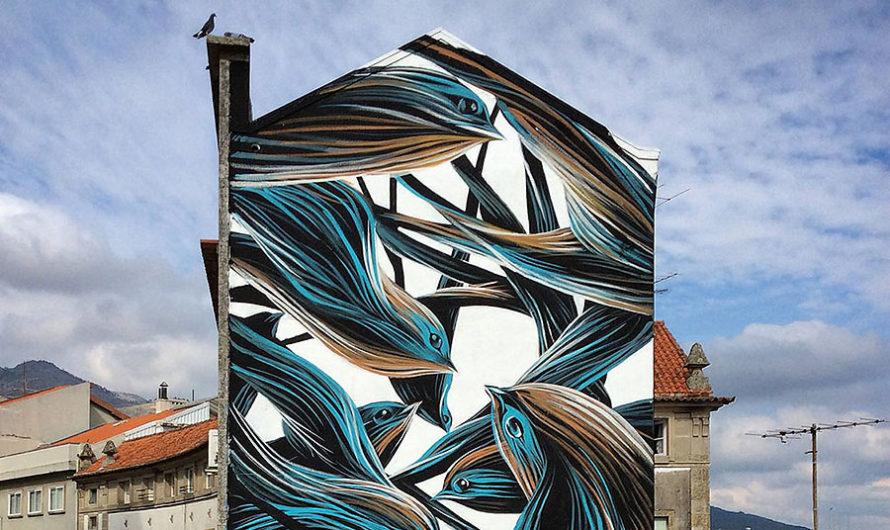 Рой: пластичная уличная живопись Pantonio