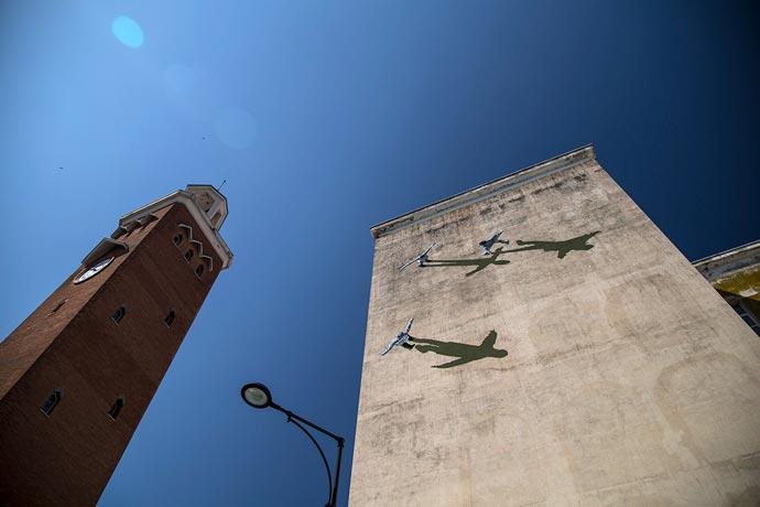 Новая работа Strok на фестивале Memorie Urbane в Италии