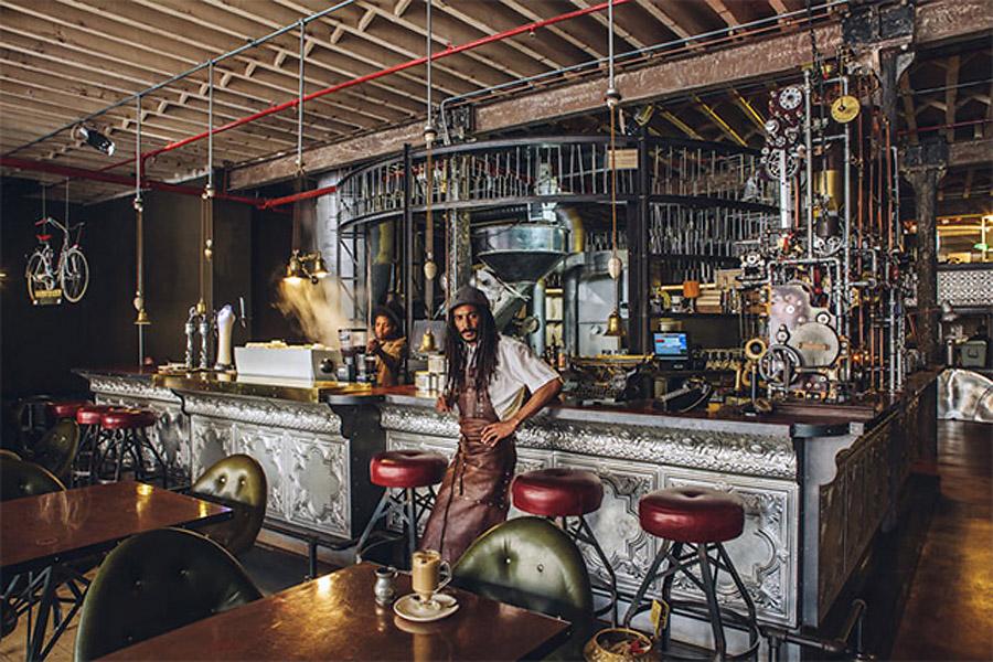 "Стимпанк-кофейня ""Truth"" Хелдэйна Мартина в Кейптауне"