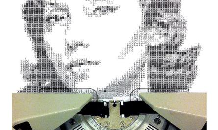 «Typewritten Portraits» - Машинописные портреты Alvaro Franca
