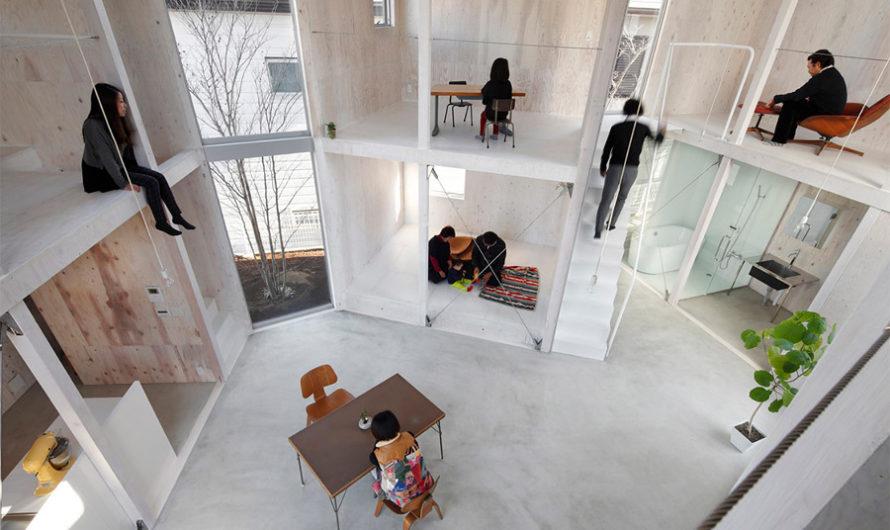 Unfinished : Жизнь в недостроенном доме Yamazaki Kentaro