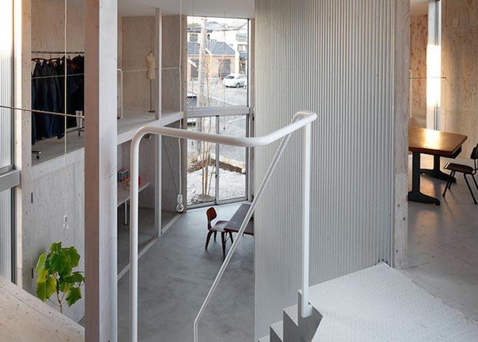 Архитектурный проект Ямазаки Кентаро (Yamazaki Kentaro) «Незаконченный дом» (Unfinished House)