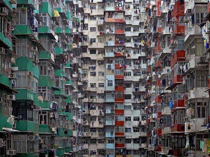 Фотографии Гонконга в проекте Михаэля Вольфа «Architecture of Density»