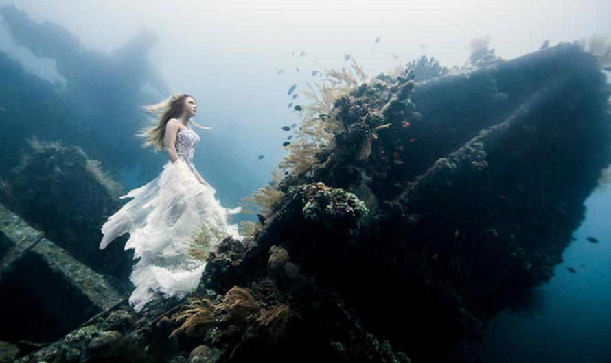 Подводная фотосессия Benjamin Von Wong