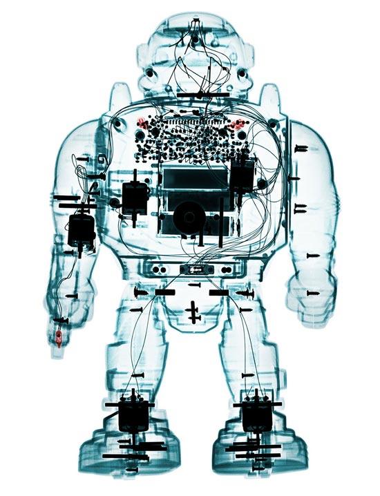 Игрушки под рентгеном - серия «Невидимый свет» (Invisible Light) Брендана Фитцпатрика