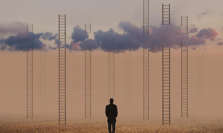 Лестницы в небо : Сюрреалистические фотоколлажи Hossein Zare
