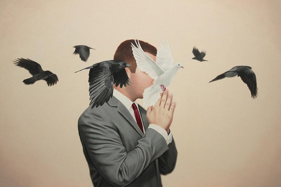 «Relativity» : живопись Алекса Холла