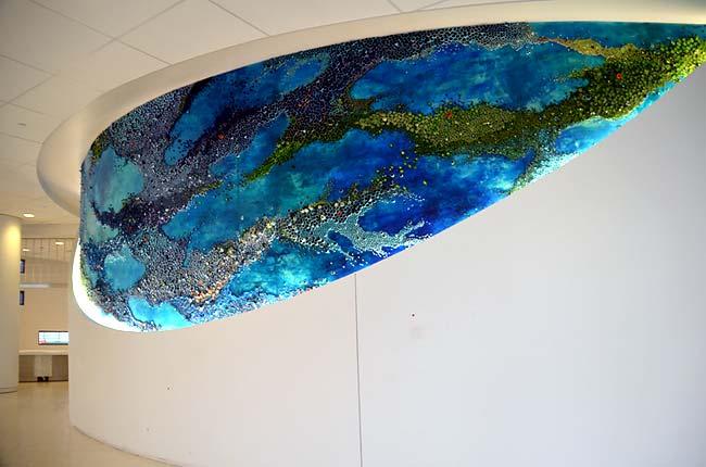 Инсталляция Amy Genser в Детском госпитале
