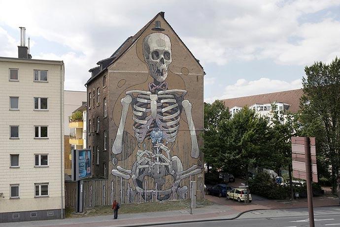 Работы уличного художника Arys