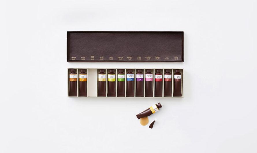 На вкус и цвет : Набор шоколадных красок студии Nendo