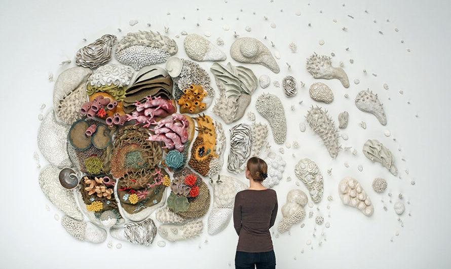 Изменения в природе : Керамический коралловый риф Courtney Mattison
