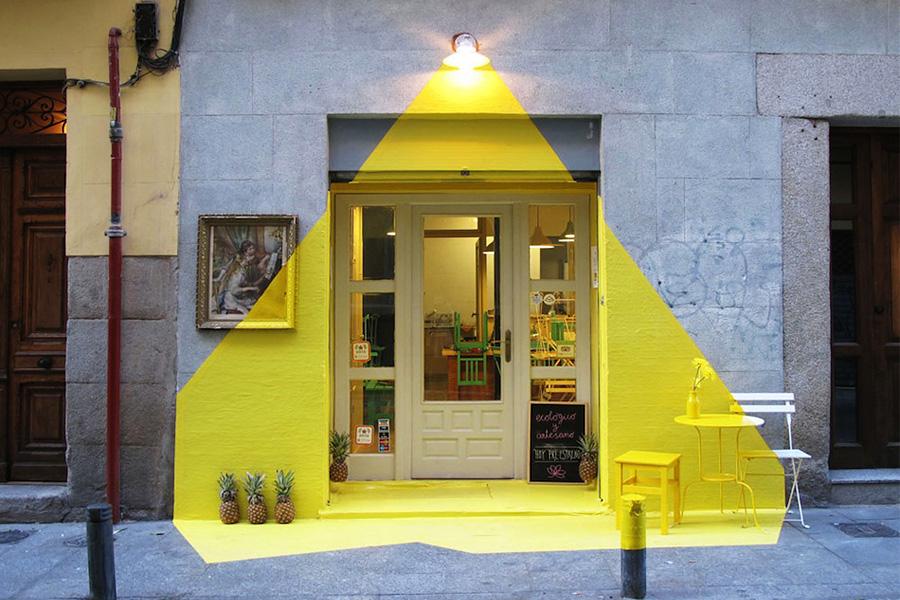 Уличная инсталляция испанской группы FOS