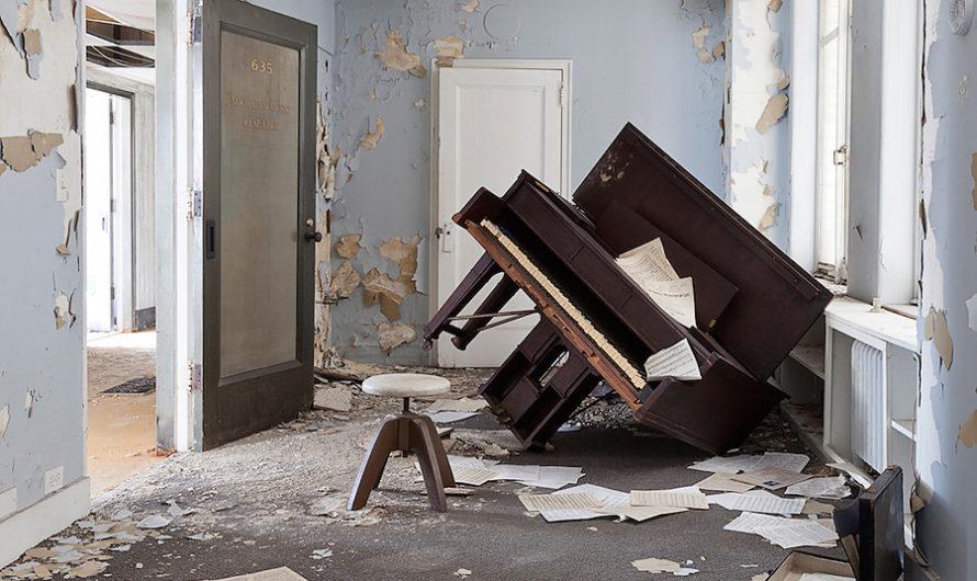 Очарование покинутого : Детройт на фотографиях Jennifer Garza-Cuen