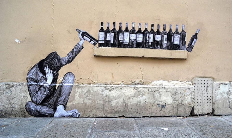 Работы стрит-артиста Levalet на парижских улицах