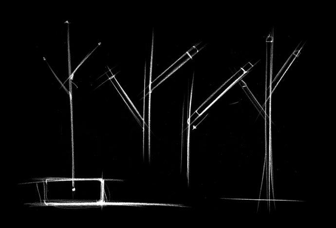 «Lucciola» – вешалка-светлячок студии DoroDesign