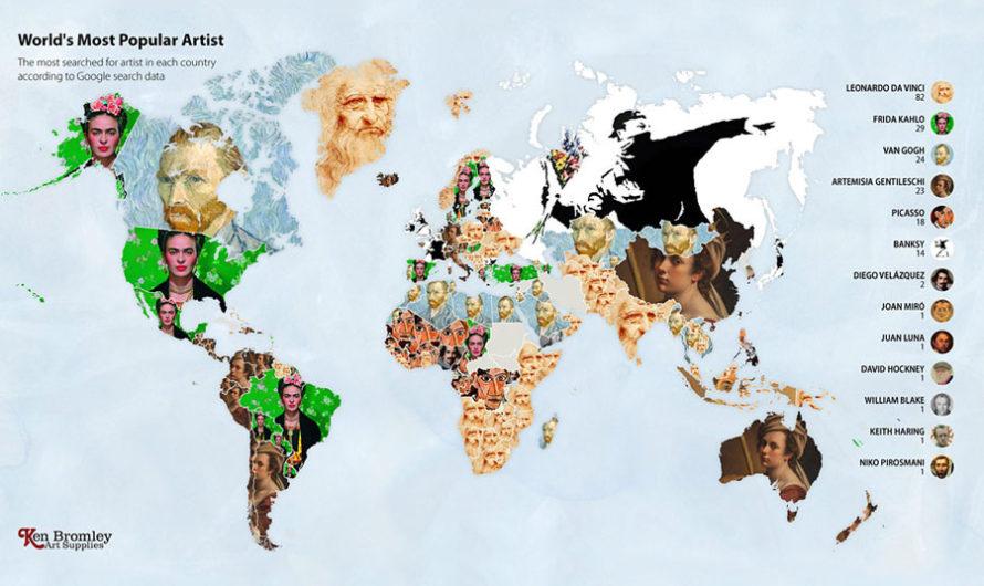 Нагуглить арт : мировые рейтинги художников в эпоху пандемии