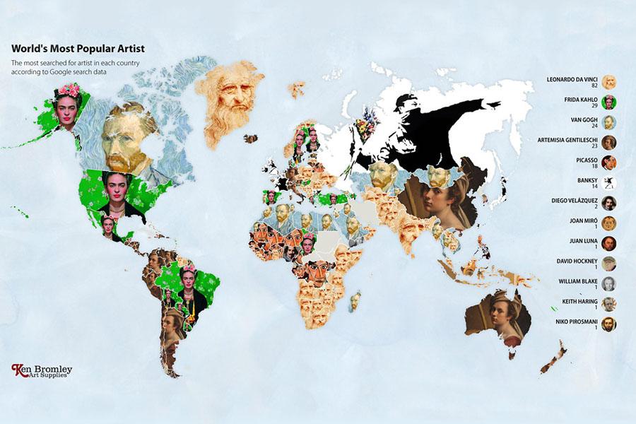 мировые рейтинги художников в эпоху пандемии