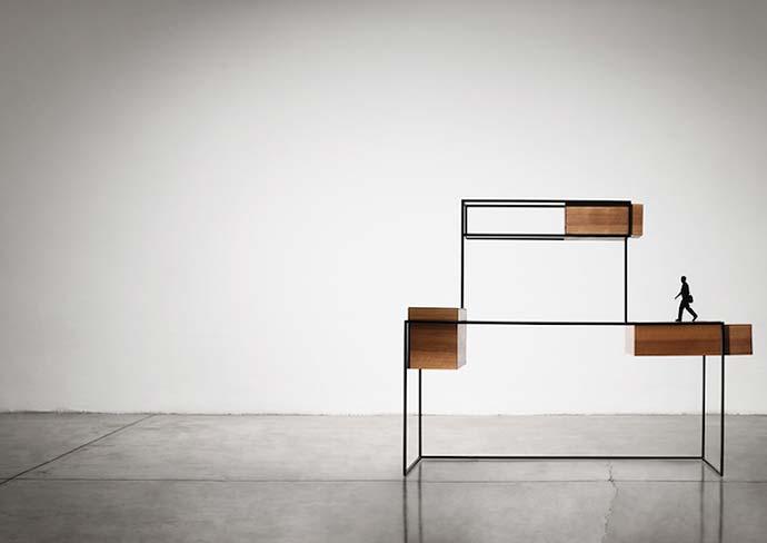 «Metropolis». Мебельный гарнитур итальянского дизайнера Giacomo Moor