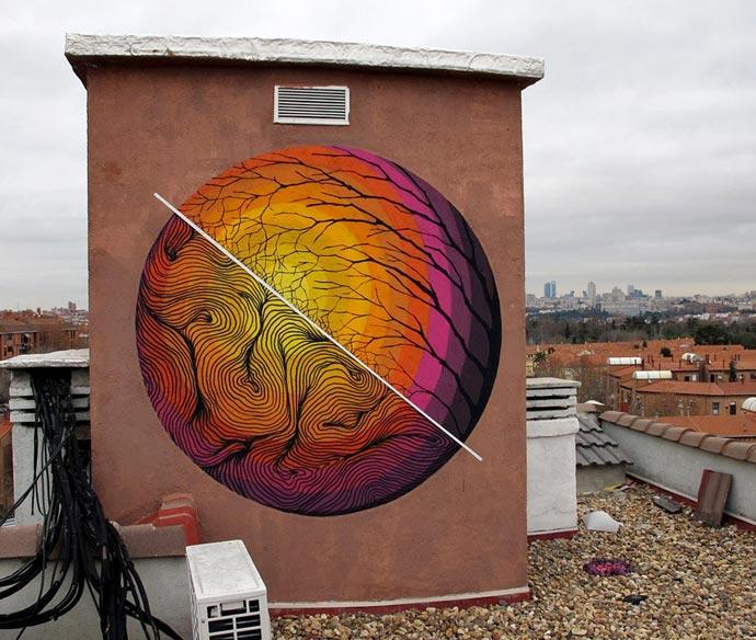 Стрит-арт Pablo S. Herrero