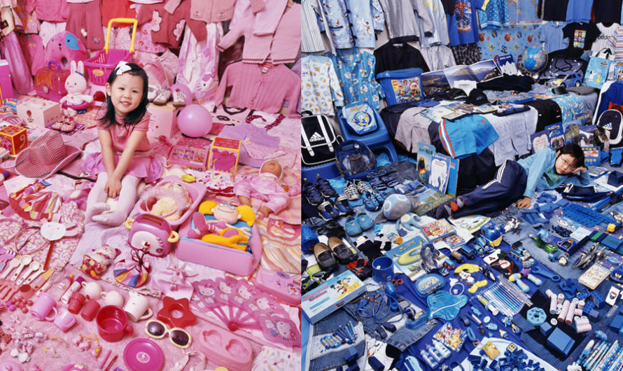 Pink & Blue : Розовое и голубое в проекте JeongMee Yoon
