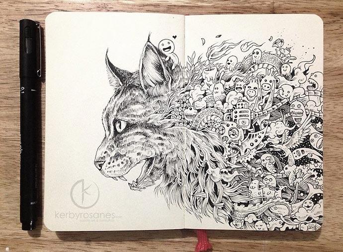 Работы художника Kerby Rosanes
