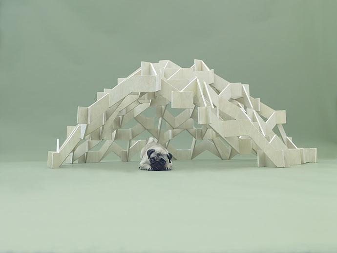 Проект Kenya Hara «Архитектура для собак» (Architecture for Dogs)