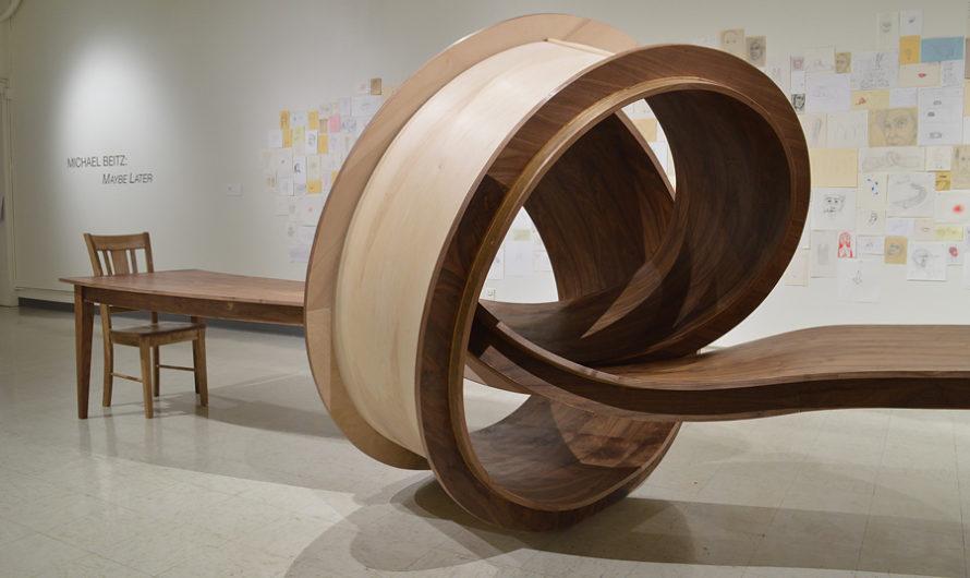 Здесь, но не теперь : Топологическая мебель Michael Beitz