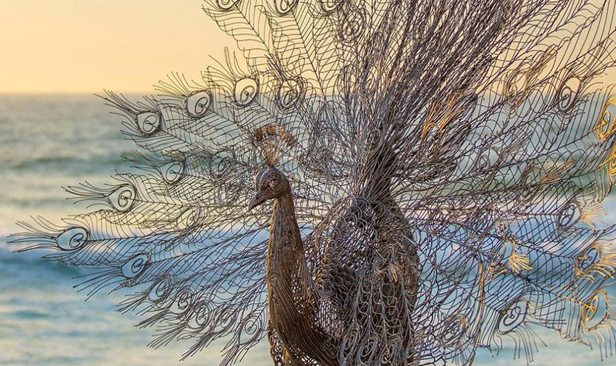 Стальная фауна корейского скульптора Byeong Doo Moon