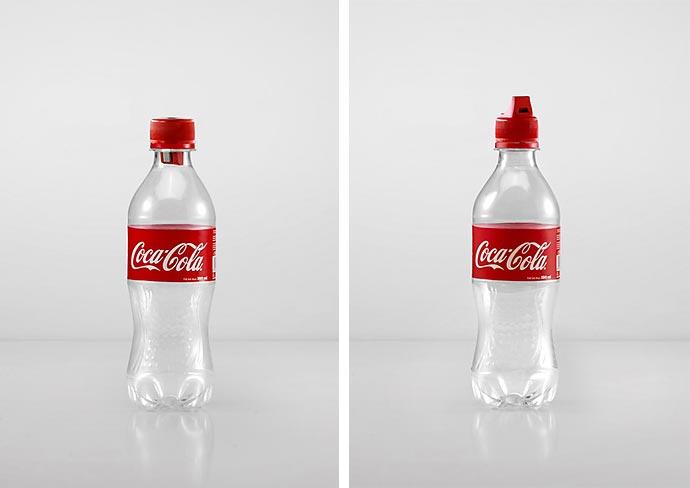 Набор из 16 функциональных пробок для бутылок Coca-Cola агентства Ogilvy & Mather