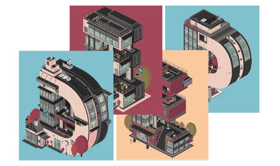 Deepblue : Движуха на всех этажах