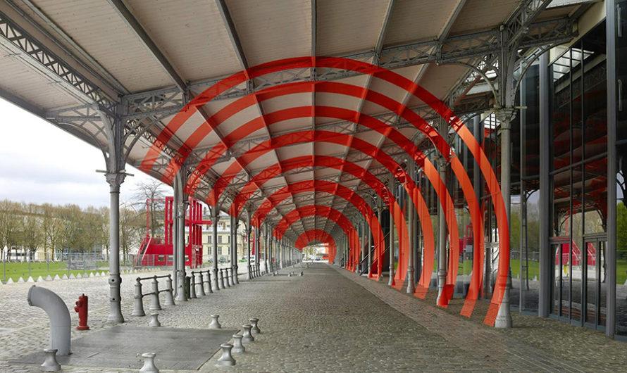 Графические иллюзии в городском пространстве Felice Varini
