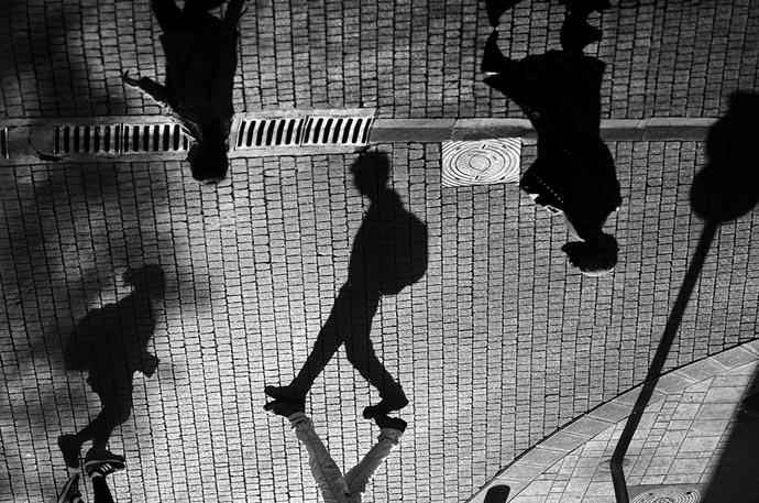 Черно-белые эксперименты фотографа Guy Cohen