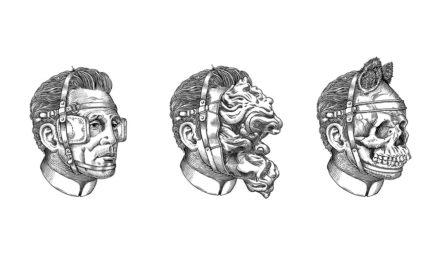 Серия «Heads» художника Valentin Leonida