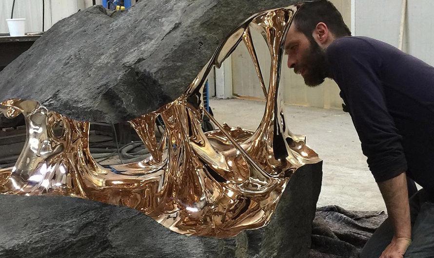В бронзе и камне : Скульптура Romain Langlois
