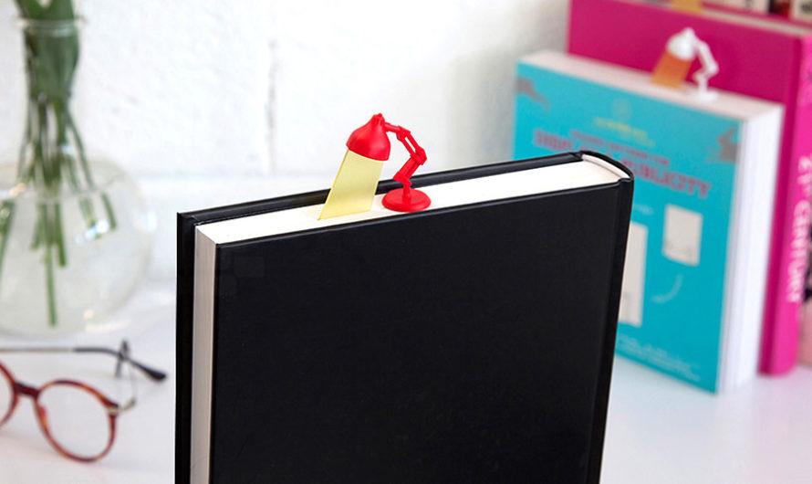 Ученье – свет : оригинальные закладки для книг «Lightmark» студии Peleg Design