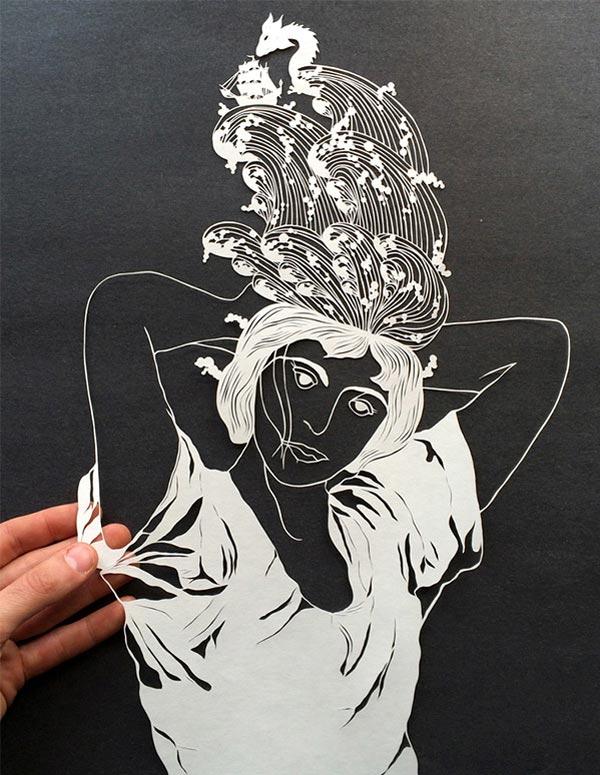 Бумажные иллюстрации Maude White
