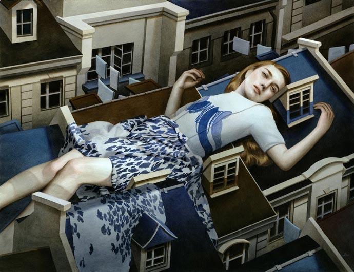 Психоландшафтная живопись Tran Nguyen